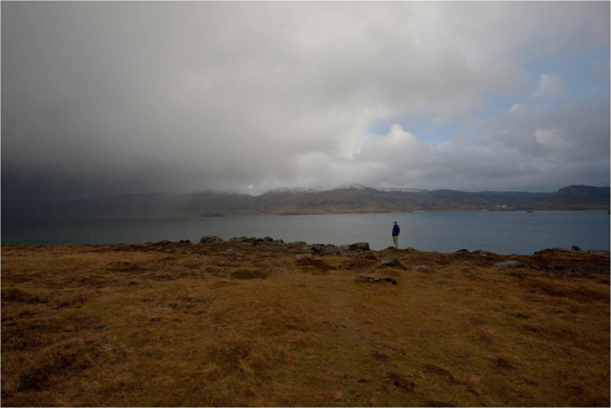 North of Reykjavik