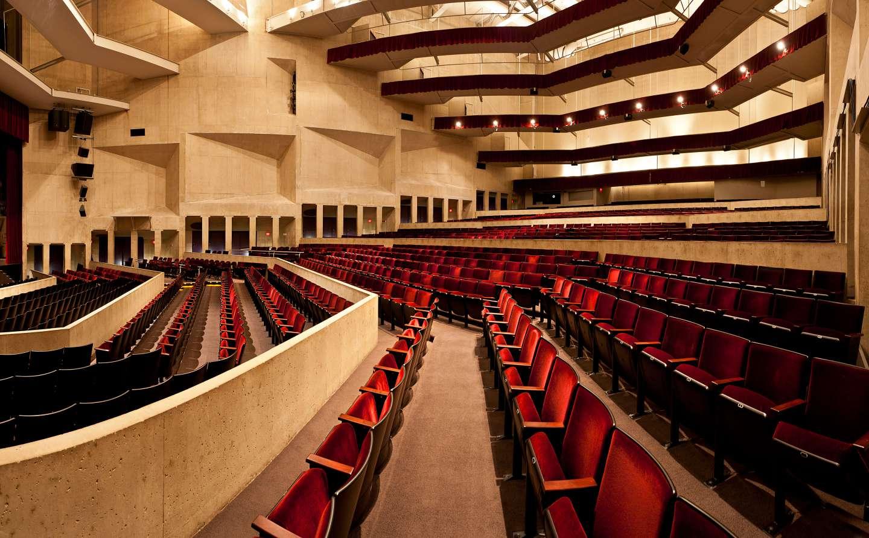 Umass Amherst Fine Arts Center Concert Hall Kuhn Riddle Architects